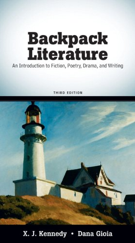 Backpack Literature An Introduction to Fiction, Poetry, Drama, and Writing 3rd 2010 edition cover