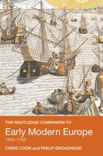 Early Modern Europe, 1453-1763   2007 edition cover