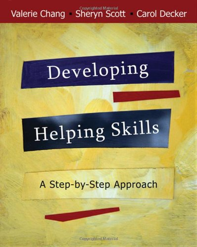 Developing Helping Skills A Step-by-Step Approach  2009 edition cover