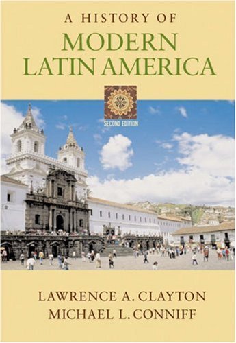 History of Modern Latin America  2nd 2005 (Revised) edition cover