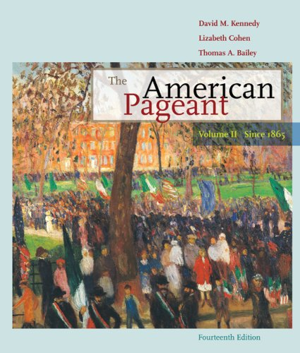 American Pageant Volume II: Since 1865 14th 2010 edition cover