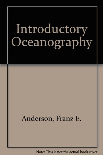 Introductory Oceanography  3rd 1998 (Revised) edition cover