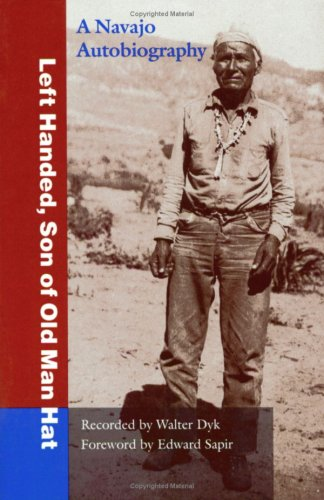 Left Handed, Son of Old Man Hat A Navaho Autobiography  1995 edition cover