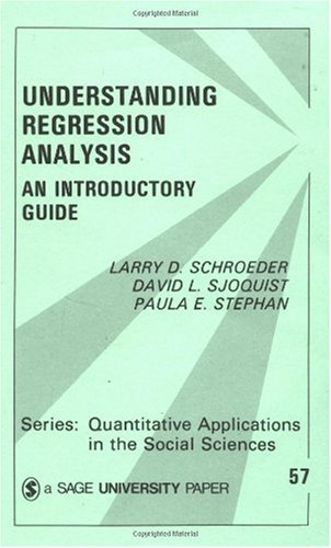 Understanding Regression Analysis An Introductory Guide  1986 edition cover