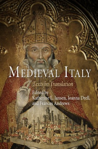 Medieval Italy Texts in Translation  2009 edition cover