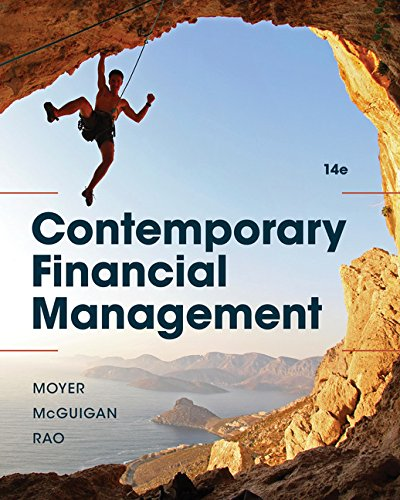 Contemporary Financial Management:   2017 9781337090582 Front Cover