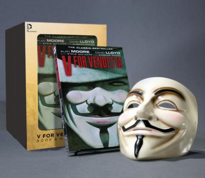 V for Vendetta  N/A 9781401238582 Front Cover