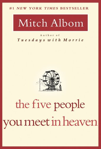 Five People You Meet in Heaven  N/A 9781401308582 Front Cover