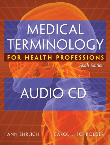 Medical Terminology for Health Professions  6th 2009 edition cover