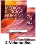 Medical-Surgical Nursing Patient-Centered Collaborative Care, 2-Volume Set 8th 9781455772582 Front Cover