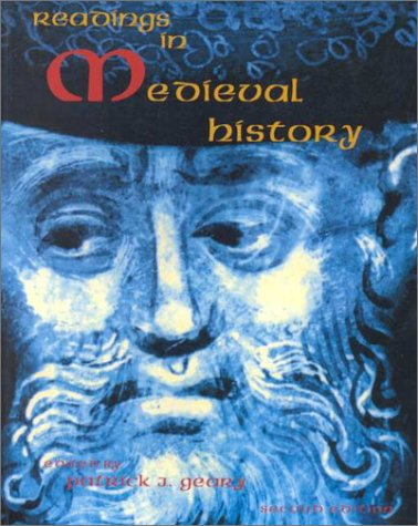 Readings in Medieval History  3rd 1997 (Revised) edition cover