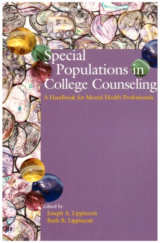 Special Populations in College Counseling A Handbook for Clinicians  2006 9781556202582 Front Cover