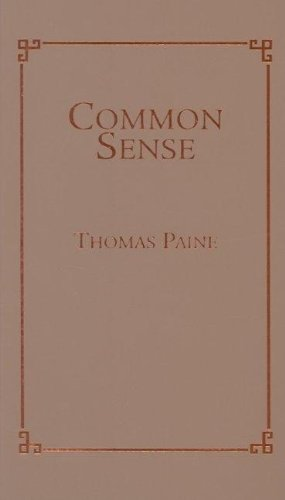 Common Sense  N/A 9781557094582 Front Cover