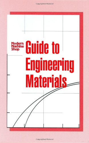 Modern Machine Shop Guide to Engineering Materials   2004 9781569903582 Front Cover
