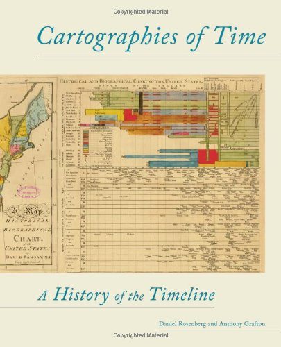 Cartographies of Time A History of the Timeline  2012 edition cover