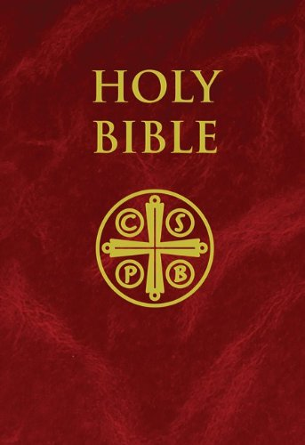 NABRE Burgundy Hardcover Bible   2011 edition cover