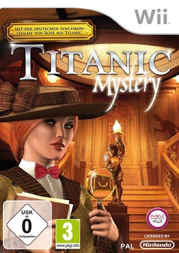 Titanic Mystery Nintendo Wii artwork