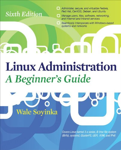 Linux Administration  6th 2012 edition cover