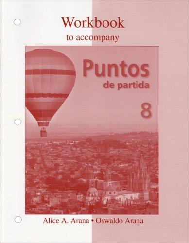 Puntos de Partida  8th 2009 edition cover