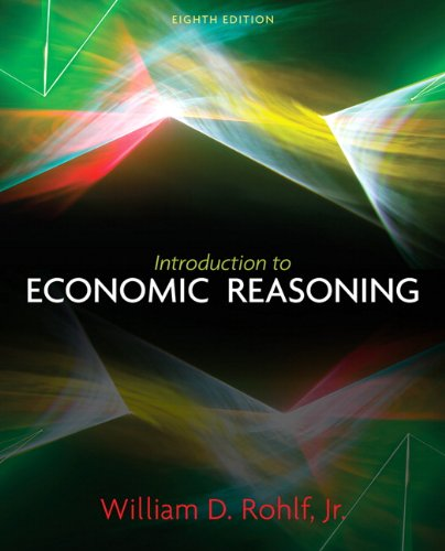 Introduction to Economic Reasoning  8th 2011 9780131368583 Front Cover