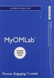 Operations Management Myomlab With Pearson Etext Access Card: Processes and Supply Chains  2015 9780133885583 Front Cover