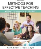 Methods for Effective Teaching Meeting the Needs of All Students, Enhanced Pearson EText with Loose-Leaf Version -- Access Card Package 7th 2016 edition cover