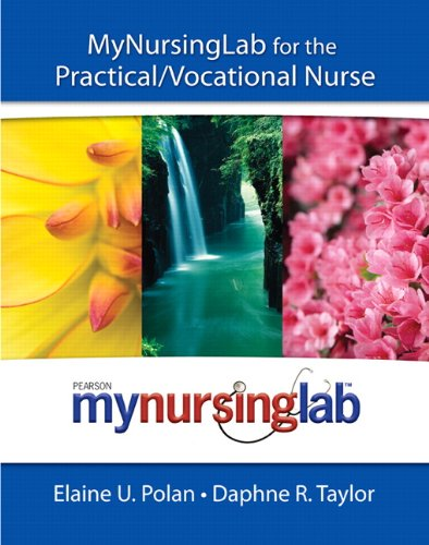 Mynursinglab for the Practical/Vocational Nurse   2011 (Workbook) edition cover