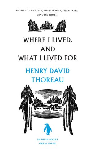 Where I Lived, and What I Lived For   2006 edition cover