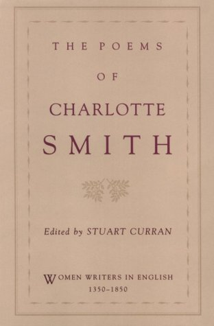 Poems of Charlotte Smith   1993 edition cover