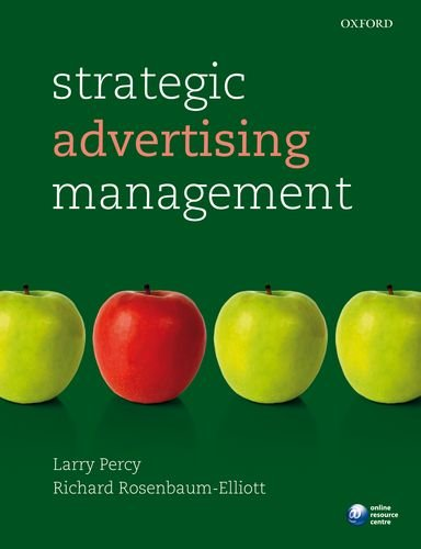 Strategic Advertising Management  4th 2012 edition cover