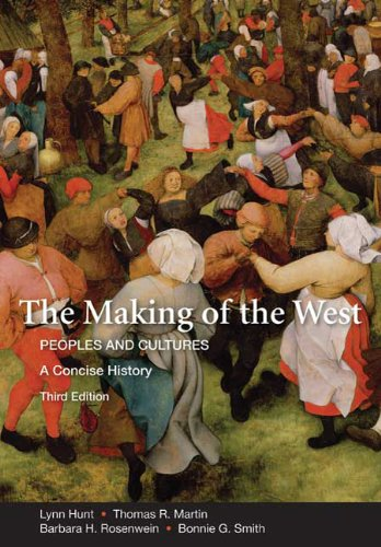 Making of the West Peoples and Cultures 3rd 2010 edition cover