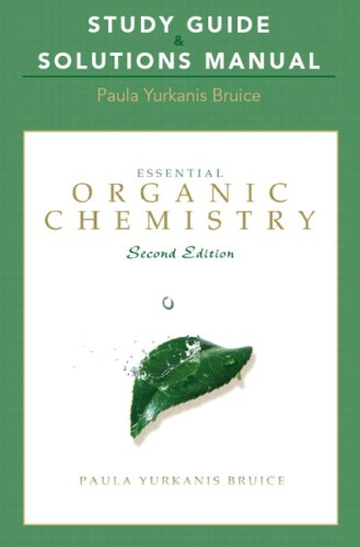 Study Guide and Solutions Manual for Essential Organic Chemistry  2nd 2010 edition cover