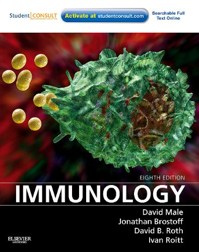 Immunology With STUDENT CONSULT Online Access 8th 2013 edition cover