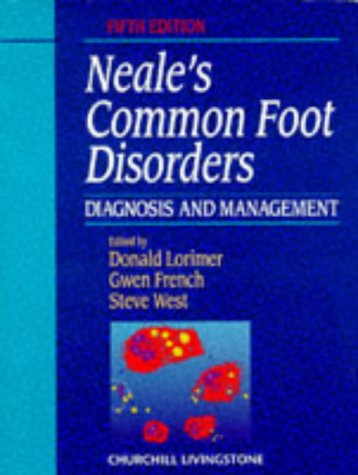 Neal's Common Foot Disorders Diagnosis and Management 6th 1997 edition cover