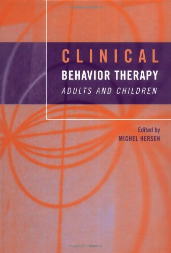 Clinical Behavior Therapy Adults and Children  2002 edition cover