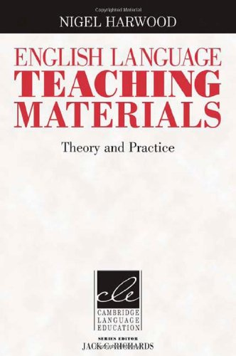 English Language Teaching Materials Theory and Practice  2010 edition cover
