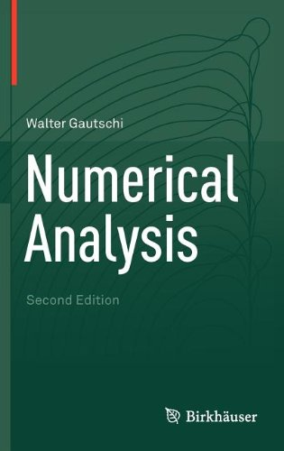 Numerical Analysis  2nd 2012 edition cover