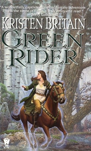 Green Rider   1998 9780886778583 Front Cover