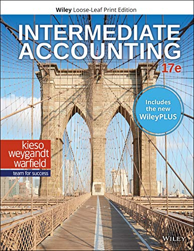 INTERMEDIATE ACCOUNTING (LL)-W/ACCESS   N/A 9781119503583 Front Cover