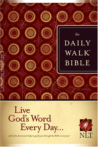 Daily Walk Bible NLT   2007 edition cover