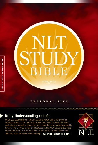 NLT Study Bible, Personal Size  N/A edition cover
