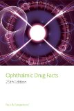 Ophthalmic Drug Facts  25th 2013 (Revised) edition cover