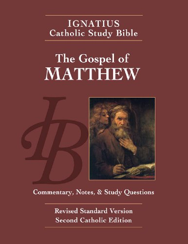Gospel According to Matthew  2nd edition cover
