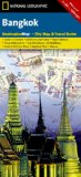 National Geographic Bangkok Destination City Map  2015th 2015 edition cover