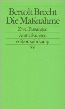 DIE MASSNAHME 1st edition cover