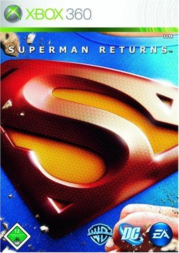 Superman Returns Xbox 360 artwork