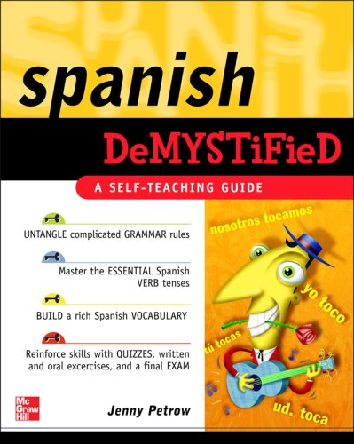 Spanish Demystified A Self -Teaching Guide  2007 edition cover