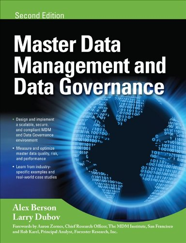 Master Data Management and Data Governance  2nd 2011 (Revised) edition cover