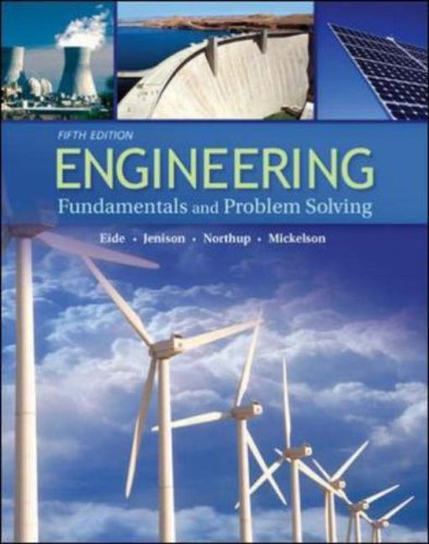 Engineering Fundamentals and Problem Solving  5th 2008 (Revised) edition cover