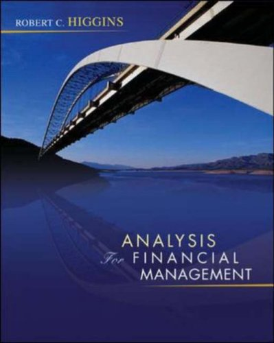 Analysis for Financial Management  8th 2007 (Revised) edition cover